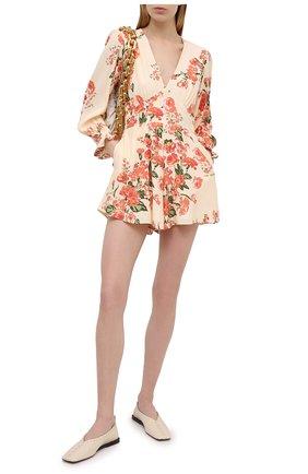 Женский комбинезон из вискозы FAITHFULL THE BRAND розового цвета, арт. FF1622-MGF | Фото 2