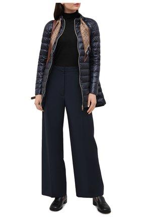 Женская пуховая куртка HERNO темно-синего цвета, арт. PI1267D/12017 | Фото 2