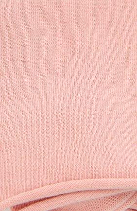 Женские хлопковые носки happy FALKE розового цвета, арт. 46417 | Фото 2