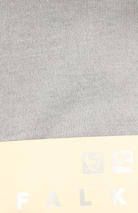 Женские носки sensual silk FALKE серебряного цвета, арт. 46288 | Фото 2