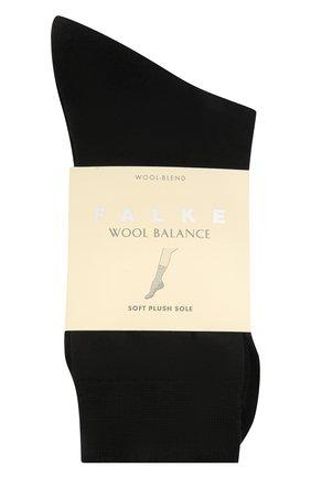 Женские носки wool balance FALKE темно-синего цвета, арт. 46510 | Фото 1