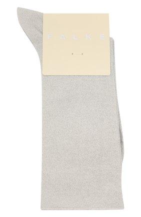 Женские носки shiny FALKE светло-серого цвета, арт. 46248   Фото 1