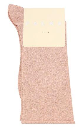 Женские носки shiny FALKE розового цвета, арт. 46248 | Фото 1