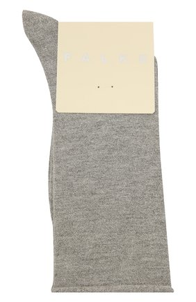 Женские носки shiny FALKE серого цвета, арт. 46248   Фото 1