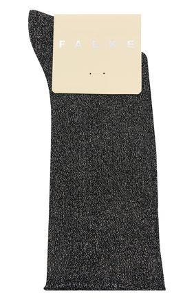 Женские носки shiny FALKE темно-синего цвета, арт. 46248 | Фото 1