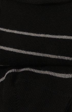 Женские хлопковые носки happy FALKE черного цвета, арт. 46419 | Фото 2