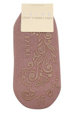 Женские хлопковые носки light cuddle pads FALKE розового цвета, арт. 46585 | Фото 1