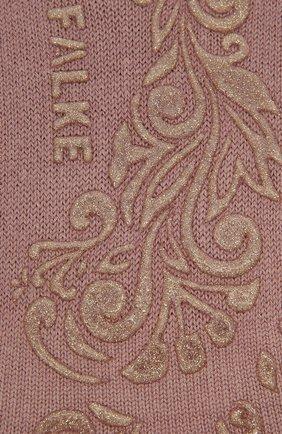 Женские хлопковые носки light cuddle pads FALKE розового цвета, арт. 46585 | Фото 2