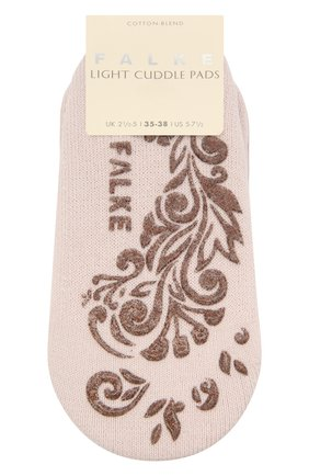 Женские хлопковые носки light cuddle pads FALKE светло-розового цвета, арт. 46585 | Фото 1