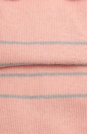 Женские хлопковые носки happy FALKE розового цвета, арт. 46419 | Фото 2