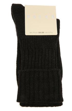 Женские шерстяные носки FALKE серого цвета, арт. 47520 | Фото 1