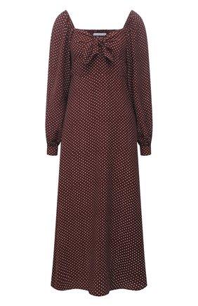 Женское платье из вискозы FAITHFULL THE BRAND коричневого цвета, арт. FF1669-BDP | Фото 1