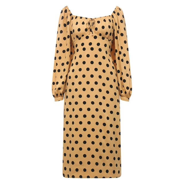 Платье из вискозы Faithfull the brand