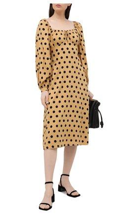 Женское платье из вискозы FAITHFULL THE BRAND бежевого цвета, арт. FF1667-EDB | Фото 2
