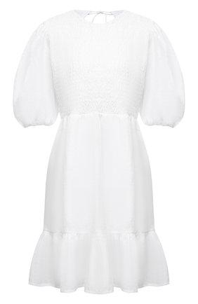 Женское льняное платье FAITHFULL THE BRAND белого цвета, арт. FF1652-WHT | Фото 1