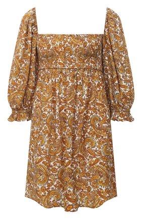 Женское платье из вискозы FAITHFULL THE BRAND коричневого цвета, арт. FF1572-LMP | Фото 1