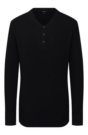 Женский пуловер MONROW черного цвета, арт. HT1021 | Фото 1