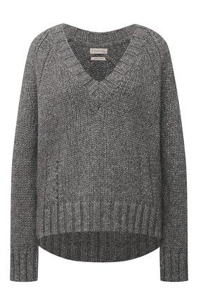 Женский шерстяной свитер BY MALENE BIRGER серого цвета, арт. Q69356005/EVANNAH   Фото 1