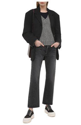 Женский шерстяной свитер BY MALENE BIRGER серого цвета, арт. Q69356005/EVANNAH   Фото 2