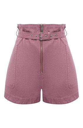 Женские шорты из хлопка и льна ISABEL MARANT ETOILE розового цвета, арт. SH0366-21P004E/PARANA | Фото 1