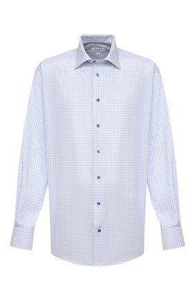 Мужская хлопковая сорочка ETON синего цвета, арт. 1000 02302 | Фото 1