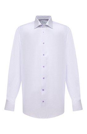 Мужская хлопковая сорочка ETON сиреневого цвета, арт. 1000 02302 | Фото 1