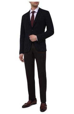 Мужская хлопковая сорочка ETON сиреневого цвета, арт. 1000 02302 | Фото 2