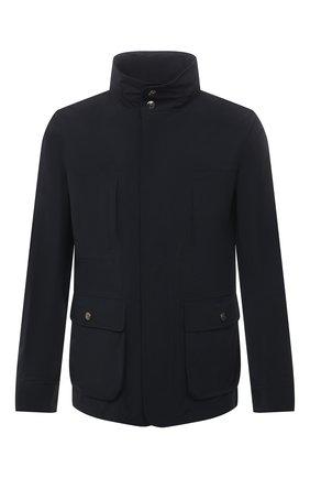 Мужская куртка KIRED темно-синего цвета, арт. WY0SHIW6905003000   Фото 1