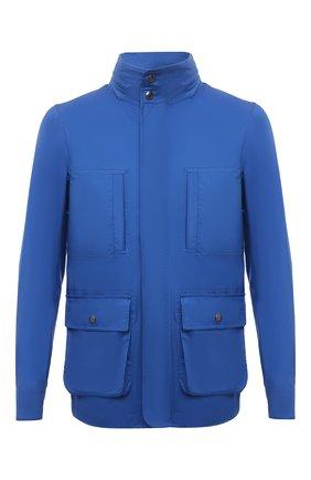 Мужская шерстяная куртка KIRED синего цвета, арт. WY0SHIW7104007001 | Фото 1