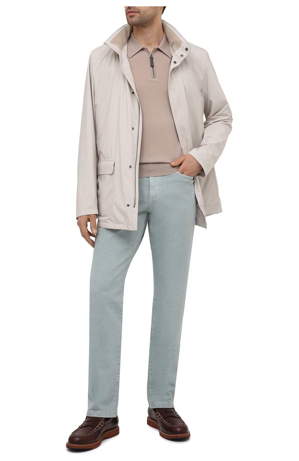 Мужские кожаные пенни-лоферы TOD'S коричневого цвета, арт. XXM05E0EB60NHV   Фото 2 (Мужское Кросс-КТ: Лоферы-обувь; Материал внутренний: Натуральная кожа; Стили: Кэжуэл)