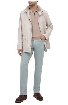 Мужские кожаные пенни-лоферы TOD'S коричневого цвета, арт. XXM05E0EB60NHV | Фото 2 (Материал внутренний: Натуральная кожа; Стили: Кэжуэл; Мужское Кросс-КТ: Лоферы-обувь)