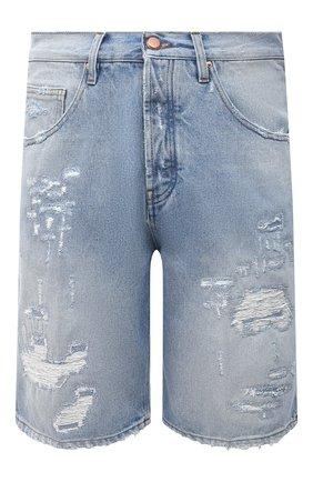 Мужские джинсовые шорты DON THE FULLER голубого цвета, арт. DHS1/SE0UL SH0RT/DTF/CLBSS783 | Фото 1