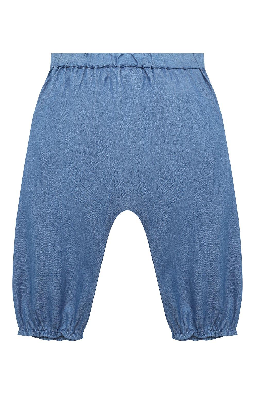 Детские хлопковые брюки TARTINE ET CHOCOLAT синего цвета, арт. TS22001/1M-1A | Фото 2
