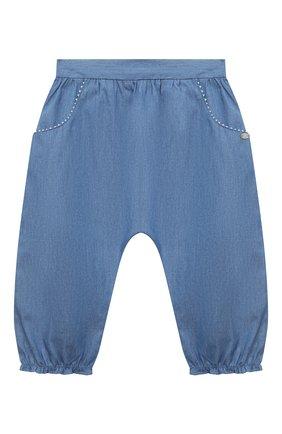 Детские хлопковые брюки TARTINE ET CHOCOLAT синего цвета, арт. TS22001/18M-3A | Фото 1