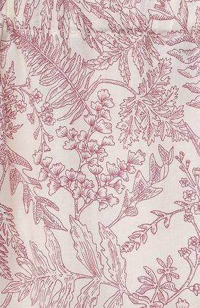 Детские хлопковые брюки TARTINE ET CHOCOLAT красного цвета, арт. TS22041/1M-18M   Фото 3