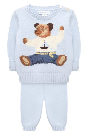 Комплект из пуловера и брюк | Фото №1