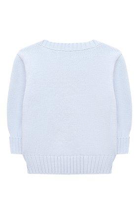 Детский комплект из пуловера и брюк RALPH LAUREN голубого цвета, арт. 320835124   Фото 3