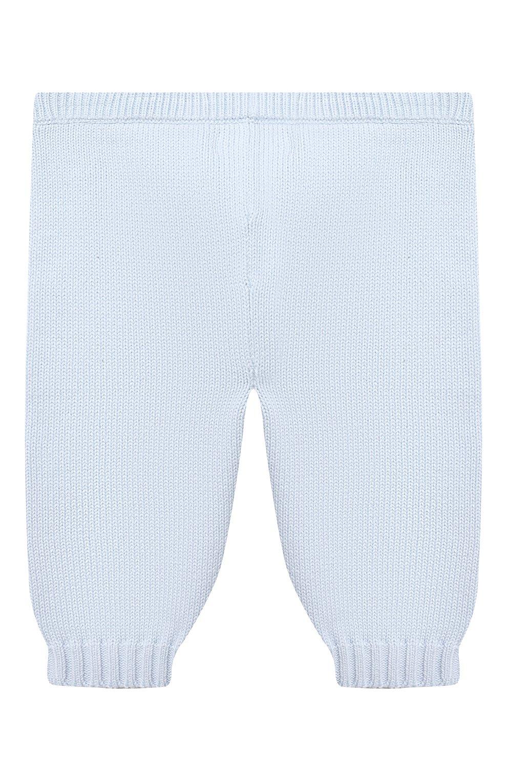 Детский комплект из пуловера и брюк RALPH LAUREN голубого цвета, арт. 320835124   Фото 5