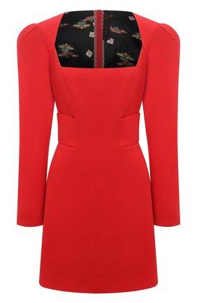 Женское шерстяное платье ULYANA SERGEENKO красного цвета, арт. ABC015FW20P  (1794т20) | Фото 1