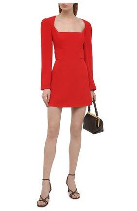 Женское шерстяное платье ULYANA SERGEENKO красного цвета, арт. ABC015FW20P  (1794т20) | Фото 2