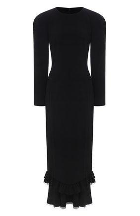 Женское платье ULYANA SERGEENKO черного цвета, арт. ABM019FW19P (1288т19) | Фото 1