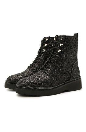 Женские ботинки haskell MICHAEL MICHAEL KORS черного цвета, арт. 40R1HSFE5D | Фото 1