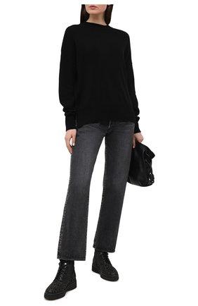 Женские ботинки haskell MICHAEL MICHAEL KORS черного цвета, арт. 40R1HSFE5D | Фото 2