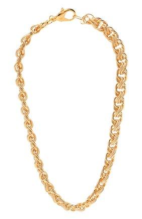 Женское колье HYPSO золотого цвета, арт. C0LLIER FAITHFULL   Фото 1