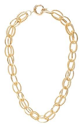 Женское колье HYPSO золотого цвета, арт. C0LLIER GISELE   Фото 1