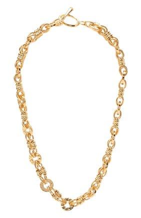 Женское колье HYPSO золотого цвета, арт. C0LLIER TWIGGY   Фото 1