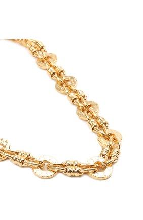 Женское колье HYPSO золотого цвета, арт. C0LLIER TWIGGY   Фото 2