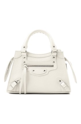 Женская сумка neo classic mini BALENCIAGA белого цвета, арт. 638524/15Y4Y | Фото 1
