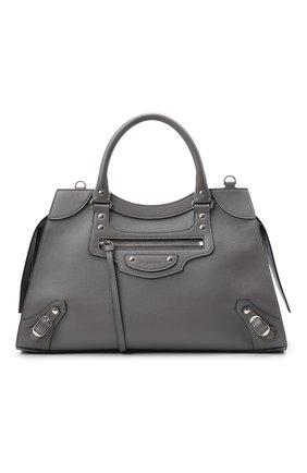 Женская сумка neo classic city BALENCIAGA серого цвета, арт. 638470/15Y4Y | Фото 1