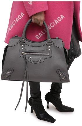 Женская сумка neo classic city BALENCIAGA серого цвета, арт. 638470/15Y4Y | Фото 2